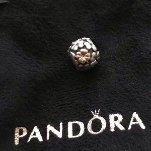 Authentic Pandora Four Leaf Clover 14k Charm